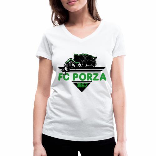 FC Porza 1 - Frauen Bio-T-Shirt mit V-Ausschnitt von Stanley & Stella