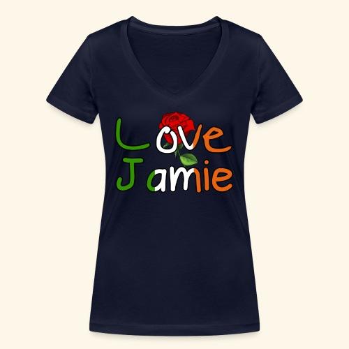 Jlove - Women's Organic V-Neck T-Shirt by Stanley & Stella