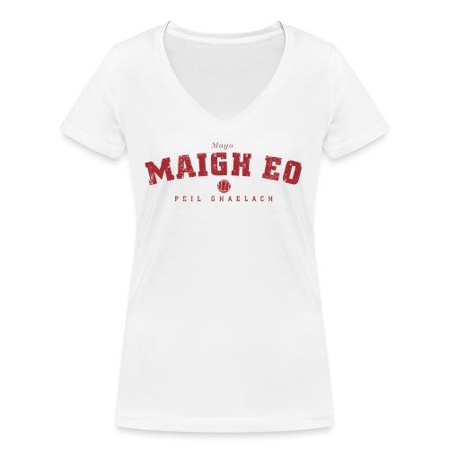 mayo vintage - Women's Organic V-Neck T-Shirt by Stanley & Stella