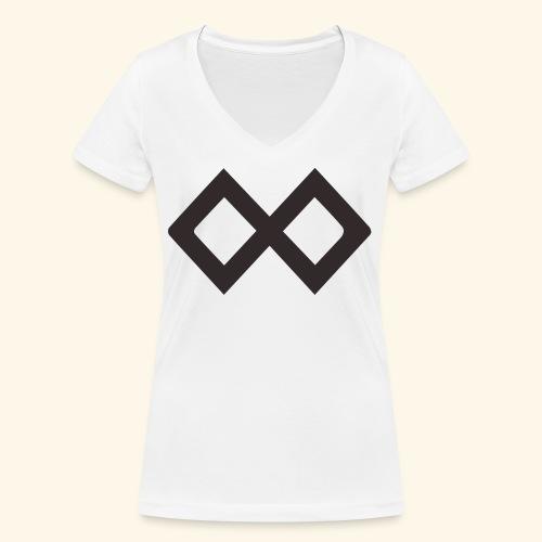 TenX Logo - Frauen Bio-T-Shirt mit V-Ausschnitt von Stanley & Stella