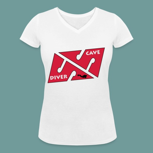 cave_diver_01 - T-shirt bio col V Stanley & Stella Femme