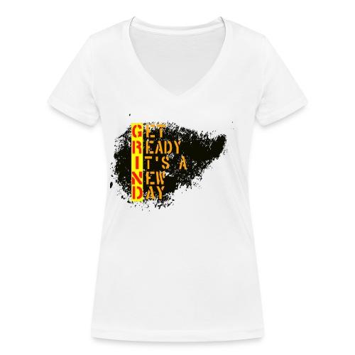 New Fresh Day - T-shirt bio col V Stanley & Stella Femme