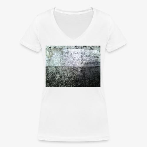 M A U T - Frauen Bio-T-Shirt mit V-Ausschnitt von Stanley & Stella