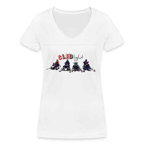 SledLight/test - Ekologisk T-shirt med V-ringning dam från Stanley & Stella