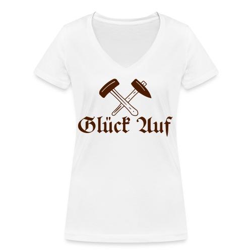 S E Briccius - Frauen Bio-T-Shirt mit V-Ausschnitt von Stanley & Stella