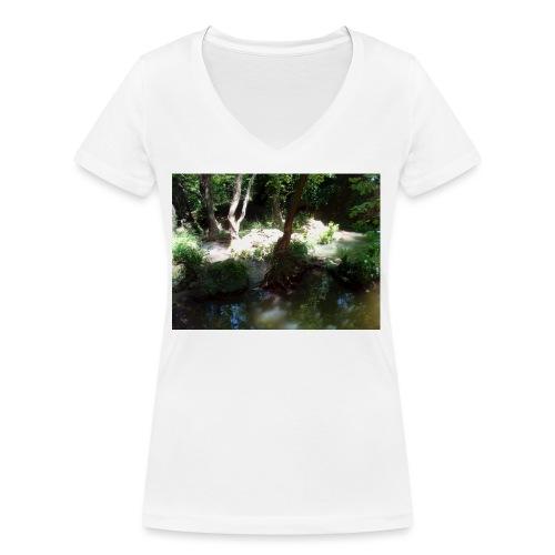 IMG 20180704 134239 - T-shirt bio col V Stanley & Stella Femme
