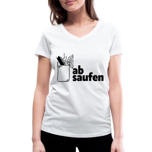 absaufen - Frauen Bio-T-Shirt mit V-Ausschnitt von Stanley & Stella