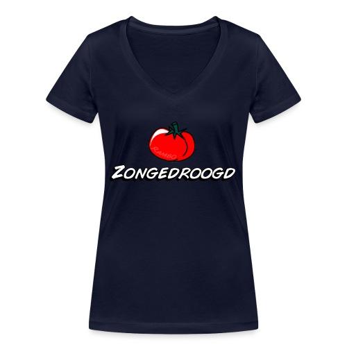 ZONGEDROOGD - Vrouwen bio T-shirt met V-hals van Stanley & Stella