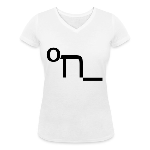 DRUNK - Women's Organic V-Neck T-Shirt by Stanley & Stella