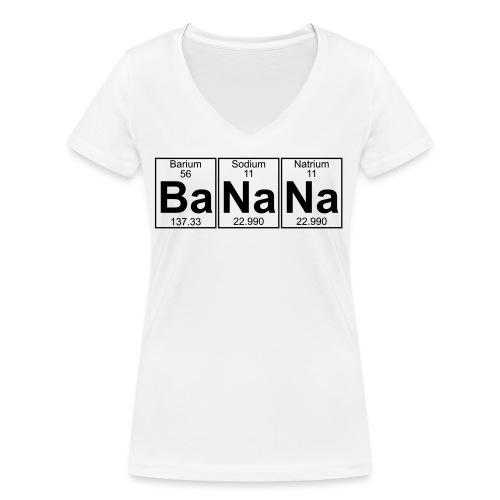 Ba-Na-Na (banana) - Full - Women's Organic V-Neck T-Shirt by Stanley & Stella