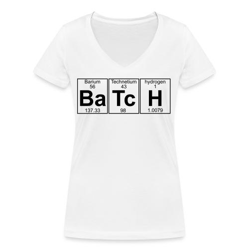 Ba-Tc-H (batch) - Full - Women's Organic V-Neck T-Shirt by Stanley & Stella
