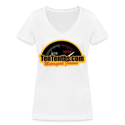 3Colour_Logo - Women's Organic V-Neck T-Shirt by Stanley & Stella