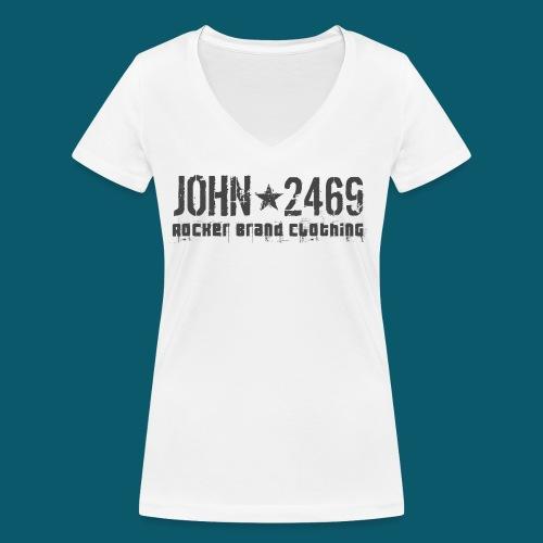 JOHN2469 prova per spread - T-shirt ecologica da donna con scollo a V di Stanley & Stella