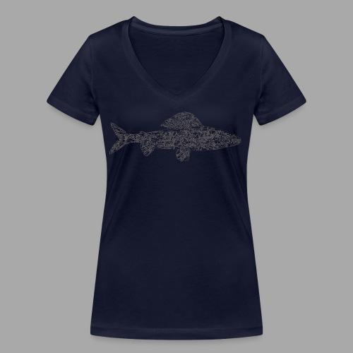 grayling - Stanley & Stellan naisten v-aukkoinen luomu-T-paita
