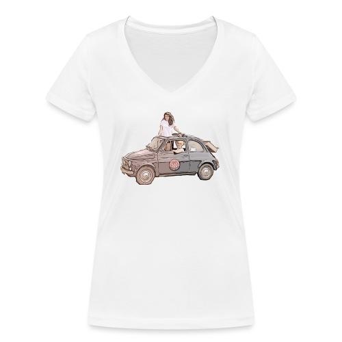 Ma Titine 500 - T-shirt bio col V Stanley & Stella Femme