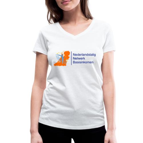 nederlandstalig netwerk basisinkomen - Vrouwen bio T-shirt met V-hals van Stanley & Stella