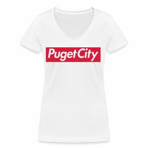 PugetCity - T-shirt bio col V Stanley & Stella Femme