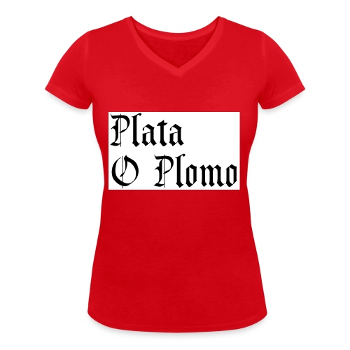 Plata o plomo - T-shirt bio col V Stanley & Stella Femme
