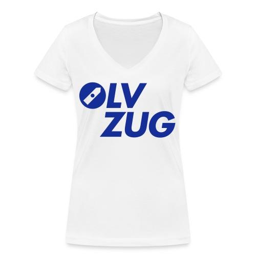 OLV_Zug_Logo_2_Z_ohneRand - Frauen Bio-T-Shirt mit V-Ausschnitt von Stanley & Stella