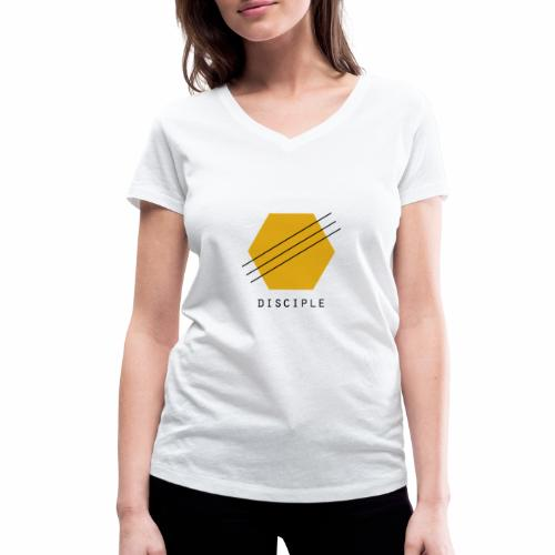 Disciple - Women's Organic V-Neck T-Shirt by Stanley & Stella