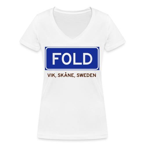 Vik, Badly Translated - Ekologisk T-shirt med V-ringning dam från Stanley & Stella
