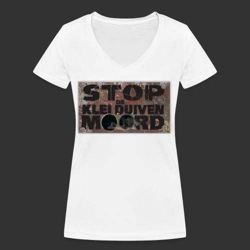 kleiduivenmoord - Vrouwen bio T-shirt met V-hals van Stanley & Stella