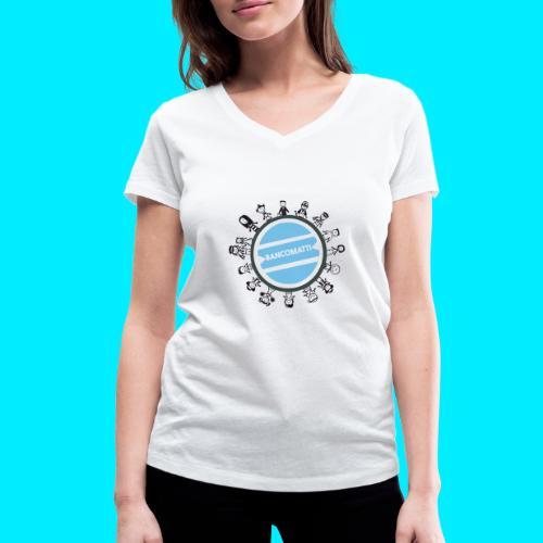 BancoFamily stick - T-shirt ecologica da donna con scollo a V di Stanley & Stella