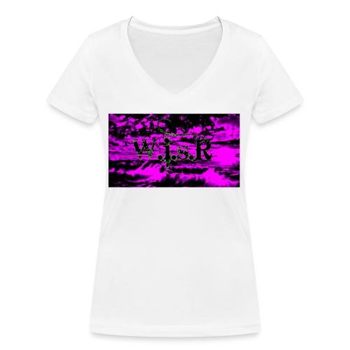 wisr valuva taivas Naisten-T Paita - Stanley & Stellan naisten v-aukkoinen luomu-T-paita