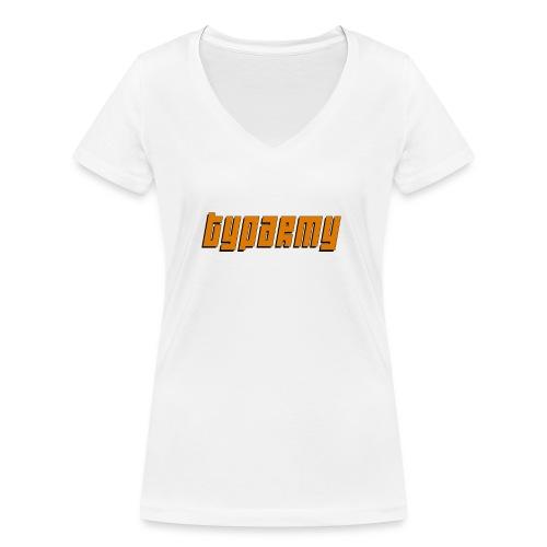 TypArmy - Hoodie - Frauen Bio-T-Shirt mit V-Ausschnitt von Stanley & Stella