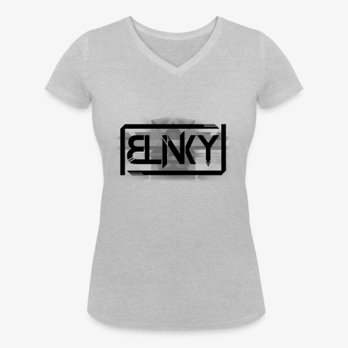 Blinky Compact Logo - Women's Organic V-Neck T-Shirt by Stanley & Stella