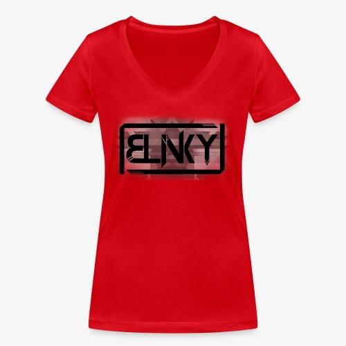 Blinky Compact Logo - Women's Organic V-Neck T-Shirt by Stanley & Stella
