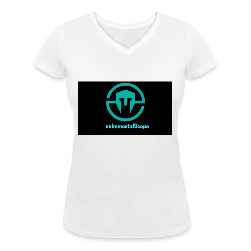 xxImmortalScope throwback - Women's Organic V-Neck T-Shirt by Stanley & Stella