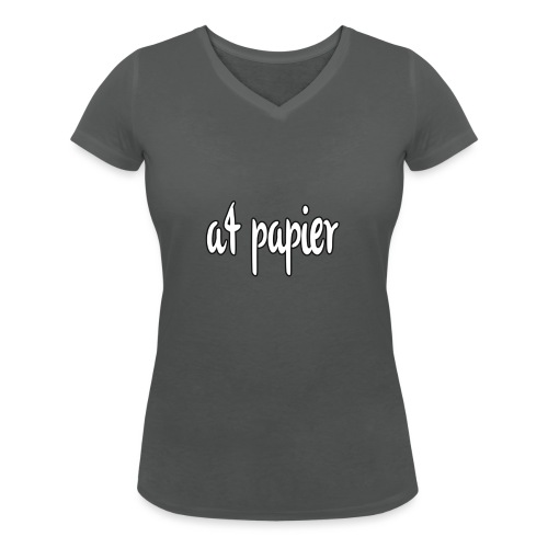 A4Papier - Vrouwen bio T-shirt met V-hals van Stanley & Stella