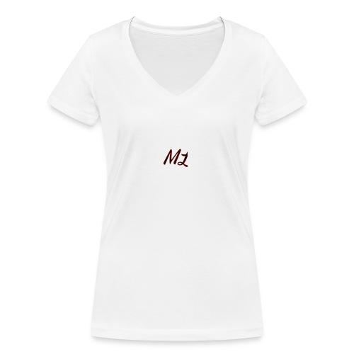ML merch - Women's Organic V-Neck T-Shirt by Stanley & Stella