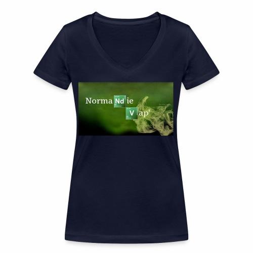 Normandie Vap' - T-shirt bio col V Stanley & Stella Femme