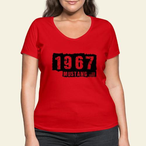 1967 - Økologisk Stanley & Stella T-shirt med V-udskæring til damer