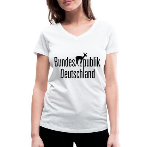 BundesREHpublik_D - Frauen Bio-T-Shirt mit V-Ausschnitt von Stanley & Stella