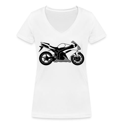 R1 07-on V2 - Women's Organic V-Neck T-Shirt by Stanley & Stella