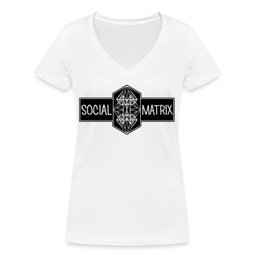 HET ORIGINEEL - Vrouwen bio T-shirt met V-hals van Stanley & Stella