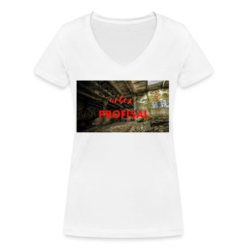 profisal - Ekologiczna koszulka damska z dekoltem w serek Stanley & Stella