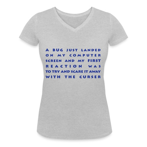 bug - Stanley & Stellan naisten v-aukkoinen luomu-T-paita