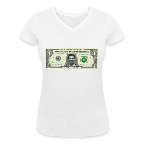 United Scum of America - Women's Organic V-Neck T-Shirt by Stanley & Stella