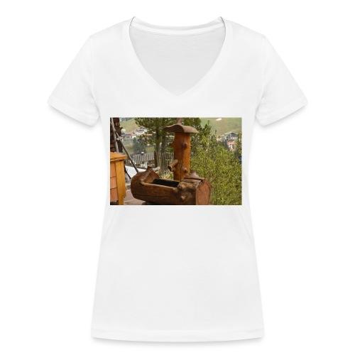 19.12.17 - Frauen Bio-T-Shirt mit V-Ausschnitt von Stanley & Stella