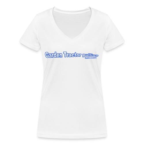 Børne Garden Tractor pulling - Økologisk Stanley & Stella T-shirt med V-udskæring til damer