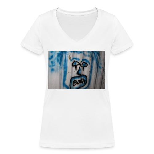 fox 2 - T-shirt bio col V Stanley & Stella Femme