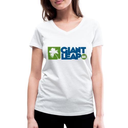 palme - Frauen Bio-T-Shirt mit V-Ausschnitt von Stanley & Stella