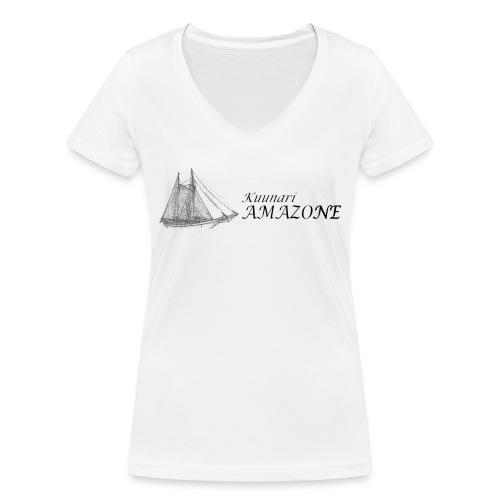 vessel-png - Stanley & Stellan naisten v-aukkoinen luomu-T-paita