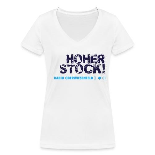 Unterbux Highsticking png - Frauen Bio-T-Shirt mit V-Ausschnitt von Stanley & Stella