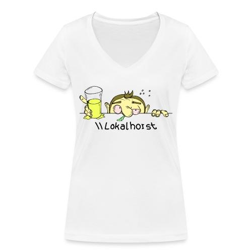 Lokalhorst - Frauen Bio-T-Shirt mit V-Ausschnitt von Stanley & Stella