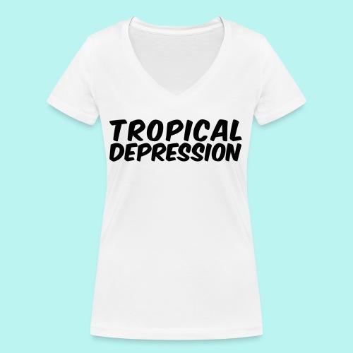 Tropical Depression - Frauen Bio-T-Shirt mit V-Ausschnitt von Stanley & Stella
